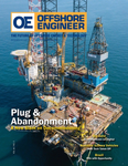 Offshore Engineer Magazine Cover Sep 2019 - Big Data and Digitalization