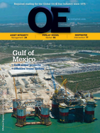 Offshore Engineer Magazine Cover Oct 2013 -