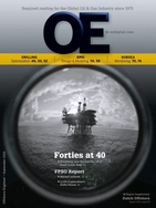 Offshore Engineer Magazine Cover Sep 2015 -
