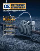 Offshore Engineer Magazine Cover Jul 2021 - The Robotics Revolution