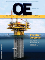 Offshore Engineer Magazine Cover Dec 2013 -
