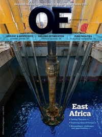 Offshore Engineer Magazine Cover Jul 2014 -