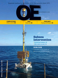 Offshore Engineer Magazine Cover Apr 2015 -
