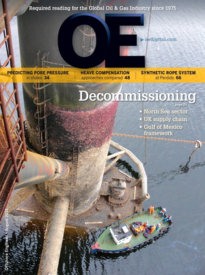 Offshore Engineer Magazine Cover Aug 2013 -