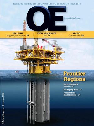 Offshore Engineer Magazine Cover Dec 2013 -