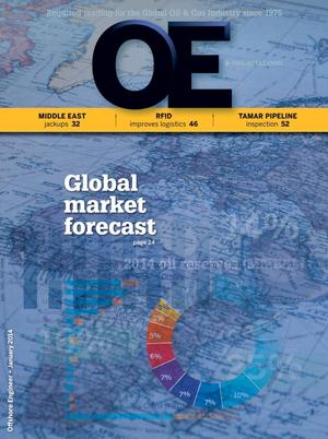 Offshore Engineer Magazine Cover Jan 2014 -