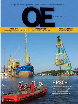 Offshore Engineer Magazine Cover Sep 2014 -