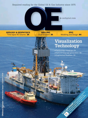 Offshore Engineer Magazine Cover Oct 2014 -