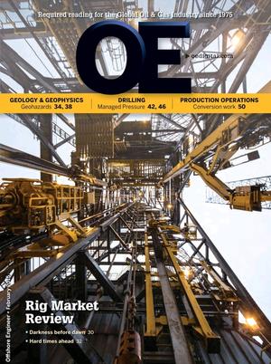 Offshore Engineer Magazine Cover Feb 2015 -