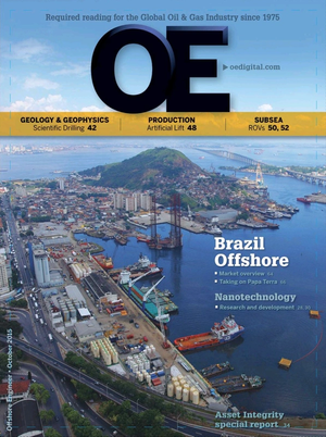 Offshore Engineer Magazine Cover Oct 2015 -