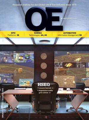 Offshore Engineer Magazine Cover Nov 2015 -