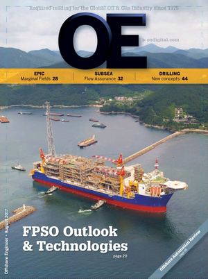 Offshore Engineer Magazine Cover Aug 2017 -