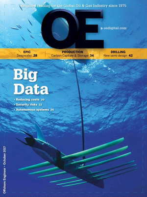 Offshore Engineer Magazine Cover Oct 2017 -