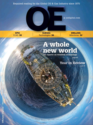Offshore Engineer Magazine Cover Dec 2017 -