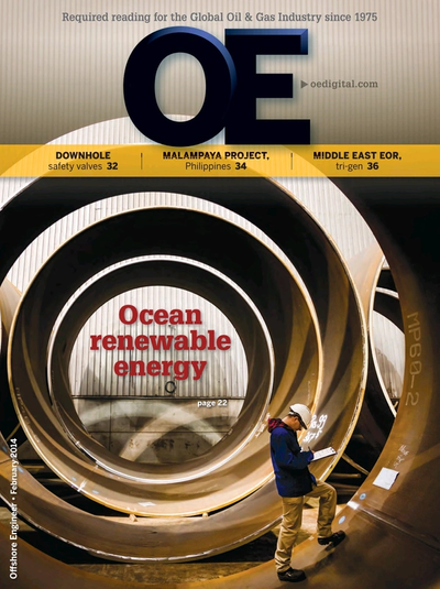 Cover of Feb/Mar 2014 issue of Offshore Engineer Magazine
