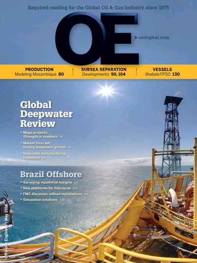 Cover of May/Jun 2014 issue of Offshore Engineer Magazine