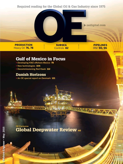 Cover of May/Jun 2015 issue of Offshore Engineer Magazine