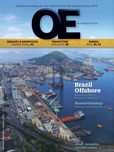 Cover of Oct/Nov 2015 issue of Offshore Engineer Magazine