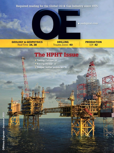 Cover of Dec/Jan 2015 issue of Offshore Engineer Magazine