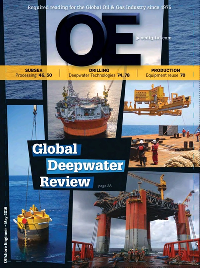 Cover of May/Jun 2016 issue of Offshore Engineer Magazine