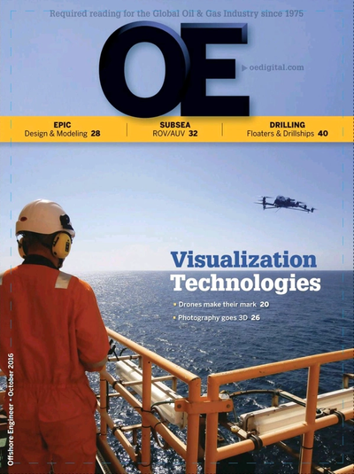 Cover of Oct/Nov 2016 issue of Offshore Engineer Magazine