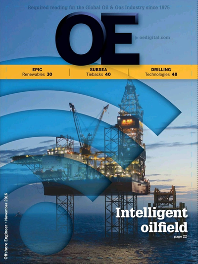 Cover of Nov/Dec 2016 issue of Offshore Engineer Magazine