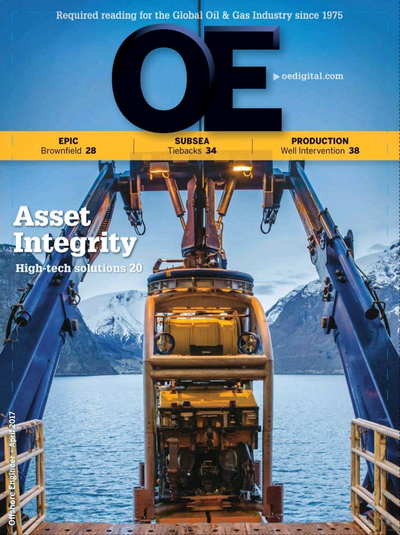 Cover of Apr/May 2017 issue of Offshore Engineer Magazine