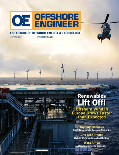 Cover of May/Jun 2019 issue of Offshore Engineer Magazine