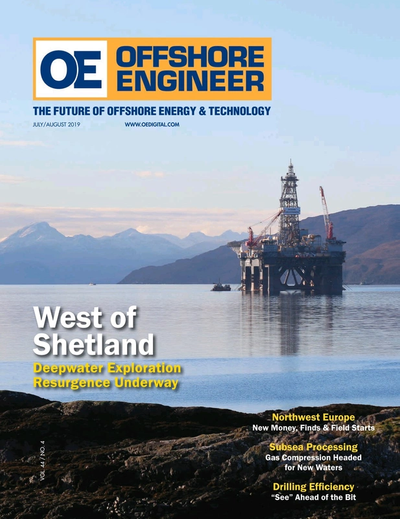 Cover of Jul/Aug 2019 issue of Offshore Engineer Magazine