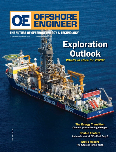 Cover of Nov/Dec 2019 issue of Offshore Engineer Magazine