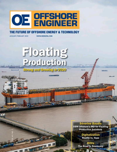 Cover of Jan/Feb 2020 issue of Offshore Engineer Magazine