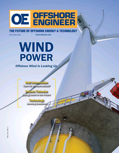 Cover of May/Jun 2020 issue of Offshore Engineer Magazine