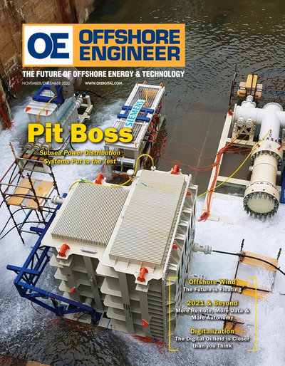 Cover of Nov/Dec 2020 issue of Offshore Engineer Magazine