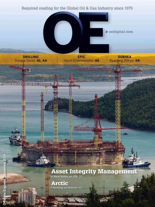 Offshore Engineer Magazine Cover Nov 2014 -