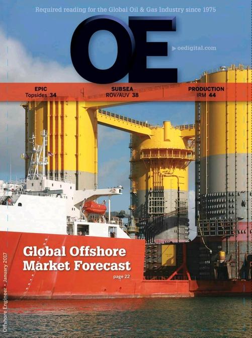 Offshore Engineer Magazine Cover Jan 2017 -