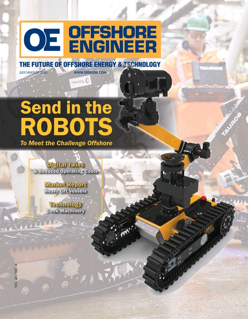 Offshore Engineer Magazine Cover Jul 2020 -