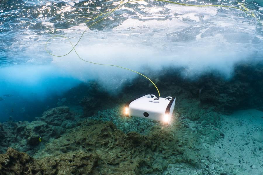 Ένα τρισδιάστατο ROV (Ocean SOFAR Credit)