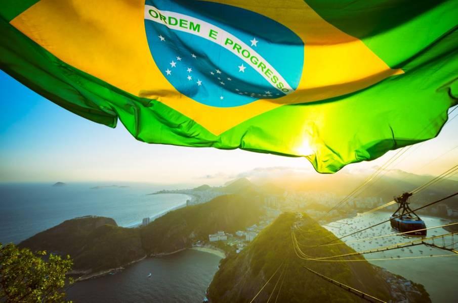 巴西国旗-图片由lazyllama-AdobeStock