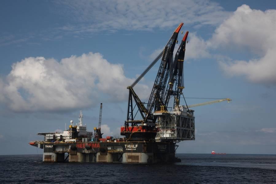 (Αρχείο φωτογραφιών: Εργοληπτών θαλάσσιων μεταφορών Heerema)