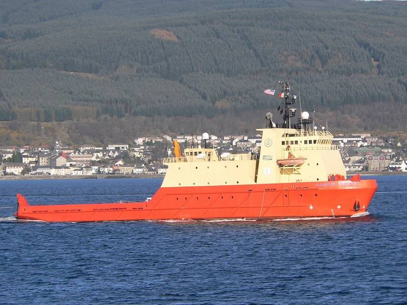 CAROLYN CHOUEST: Edison Chouest Schiff arbeitet in pazifischen Gewässern. Fotos: Iain Cameron