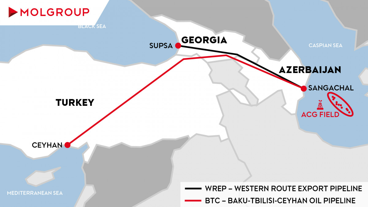 Azerbaijan's Jan-May oil exports via BTC pipeline fall % y/y   Reuters
