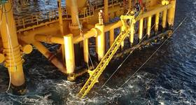 Grey areas: splashzone operations with the OceanTech VAT CREDIT: OceanTech