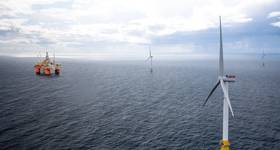 Wood has been awarded a contract by Equinor to deliver modifications to a pair of offshore platforms in the Norwegian North Sea that will be connected to electric power from floating wind turbines. (Image: Equinor)