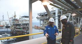 In 2012, the Block 0 offshore concession in Angola produced its 4 billionth barrel of crude oil. Chevron is the country's largest foreign oil industry employer. (Photo: Chevron)