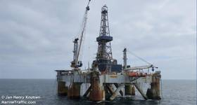 The MSS1, Borr's only semi-submersible rig, has been sold for scrap - Image by Jan Henry Knutsen  - AdobeStock