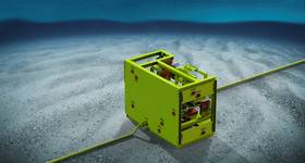 eProcess Technologies has developed the Subsea Desander (SSD) to Technical Readiness Level 5. It has no moving parts and is about 10% of the size and weight of conventional filter systems. The SSD can remove 98% of particles from 5 to 50 microns and larger, and up to 99% by weight. (Image: eProcess Technologies)