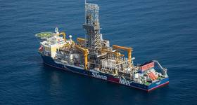 The Joe-1 exploration well was drilled by the Stena Forth drillship (Photo: Tullow Oil)