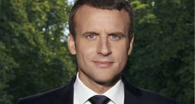 Official Portrait of Emmanuel Macron © Presidency of the Republic, Soazig de la Moissonnière