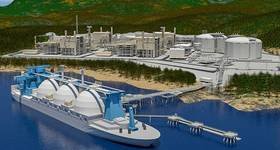 Optimism driver: Kitimat LNG (courtesy Chevron Global)
