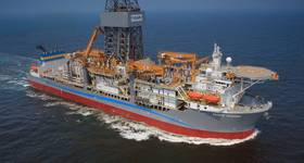 Pacific Khamsin drillship - Image credit: Equinor